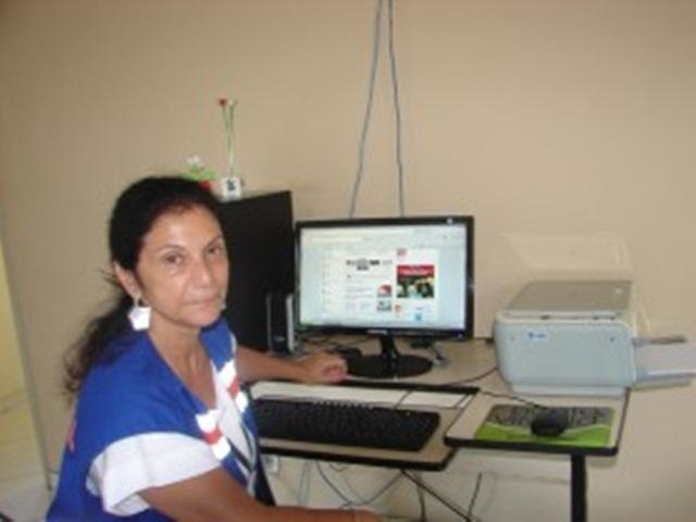 "Coordenadora da Defesa Civil de Manhuaçu Mg. Maria Tereza Nacif, ""Vininha""."
