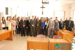Diretoria da OAB Manhuaçu se reúne com nova juíza de Lajinha