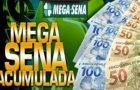 Mega-Sena acumula e vai pagar R$ 45 milhões sábado