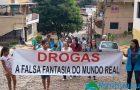 ESF Santa Terezinha mobiliza comunidade em passeata contra as drogas