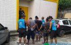 Guardas prendem quatro homens após roubo a pedestre na Barra da Tijuca